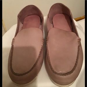Frye Leather Quincy Venetian Boating Loafers